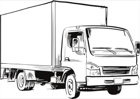 junk removal service truck in Brampton