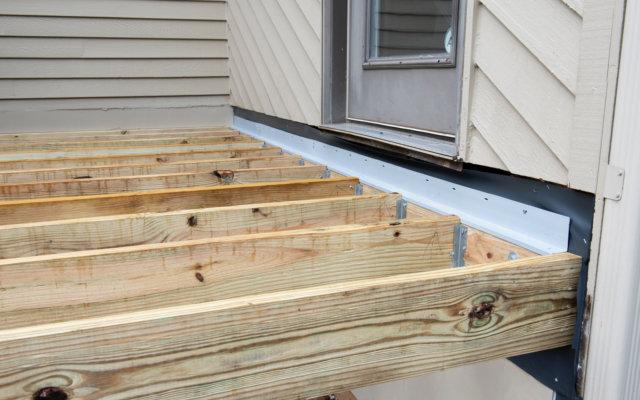 Deck Joists Demolition In Oakville area