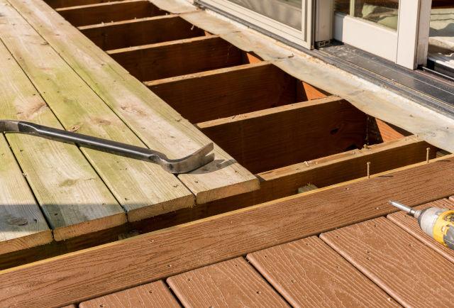 Wooden Deck Removal Oakville