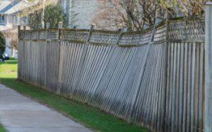 old fence demolition markham