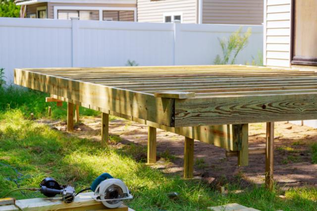 restoring deck